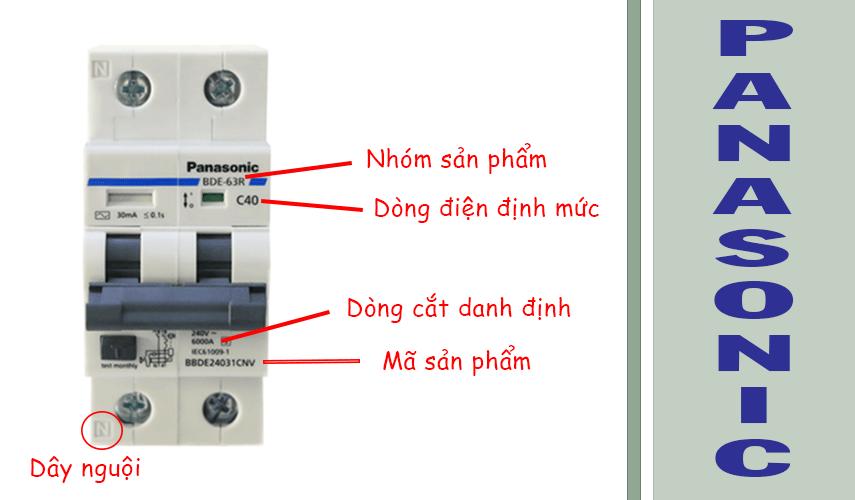 ký hiệu aptomat Panasonic